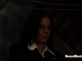 Hardcore porn leasbian No escape 2: punishment for tied up leasbian slave