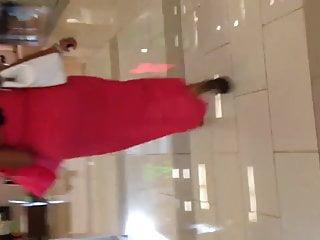 Teen see thru dress Fat black milf ass in pink see thru dress