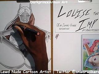 Hentai art xxx Coloring louise the imp at darkprincearmon art