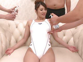 Flattering swimwear for mature men Gangbang in swimwear