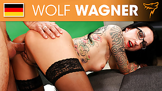 Stella Star gets fucked by Conny Dachs! Wolfwagner.com