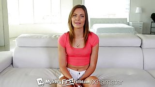 MyVeryFirstTime - Anal creampie for first timer