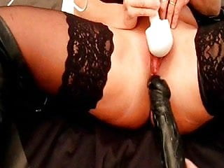 Lisa rogers cunt Lisa sucks cock while having toys in her ass and cunt