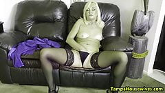 Ms Paris Stays WET and HORNY at Home and Work