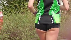 runner with small short