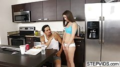Lucy Doll seducing her stepdad