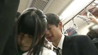 Japanese bus and sexy women