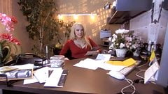 HOT FUCK #123 Gorgeous Blonde Secretary in the Office