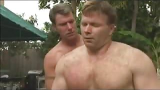 poolside wrestling threesome.mp4