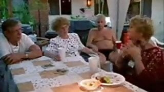 Mature group sex home party