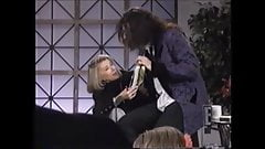 Howard Stern grabs Joan Rivers' ass on Live TV, audience 1993