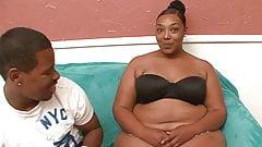 Fat Honey Ebony Fucked By A Big Black Cock