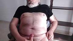 Old man cum on cam 35