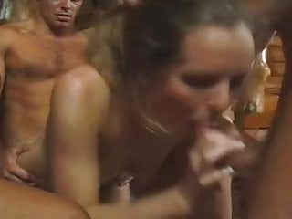Muscle men and girl sex - videos A crowd of men and a couple of girls. gangbang