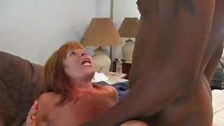 Granny Loves it Black and Hung in her mouth