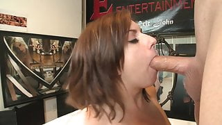 Lexi Belle loves getting a face full of cum after banging