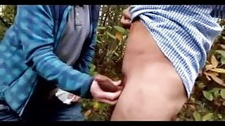 Daddy Fucked Outdoors