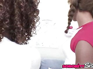 Black lesbians kissing eating pussy Black lesbians: misty with morning