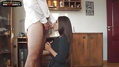 Short skirt, lapdance and sex