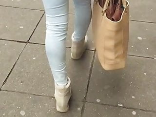 Jeans for the mature woman Jeans ass turkish woman