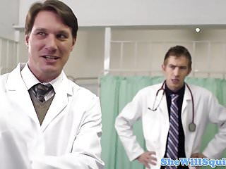 Rio lee sex clips Squirting babe pussy fucked by doctor
