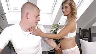 Hot milf and her younger lover 740