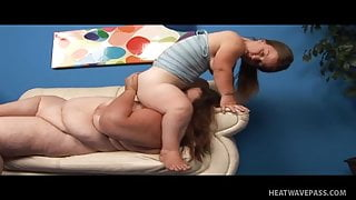 Anna Paige and a horny BBW