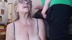 Visiting grandmother