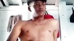 Gay Sex : Indonesian Gay, Chubby teasing cock