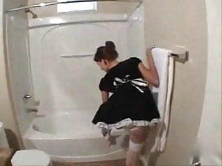Fucking maid in bathroom - Bathroom