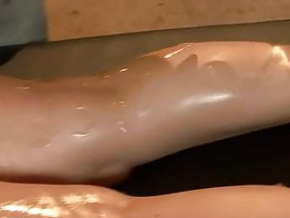 Oiled mature anal pics Eva karera - greased and oiled