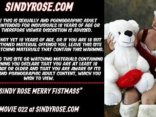 Anal prolapse video Sindy rose merry fistmass happy anal prolapse year
