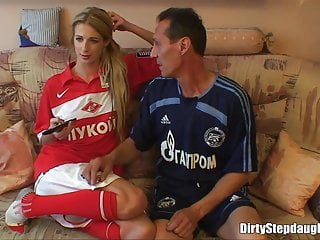 Hot teens fucks stepfather porn - Blonde teen stepdaughter deep fucked by her stepfather