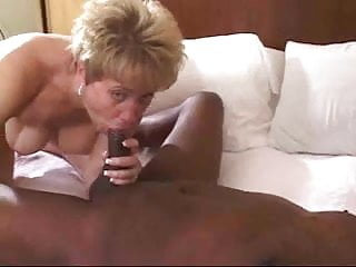 Wife with a black cock - Husband films his wife getting creamed by a black cock