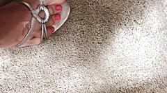 Mi mancavano le dita dei piedi rosa