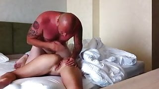 Fucks Mature stepmom in the hotel after the beach by BBZ