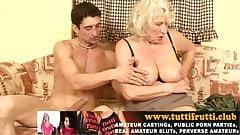 Norma Granny home porn