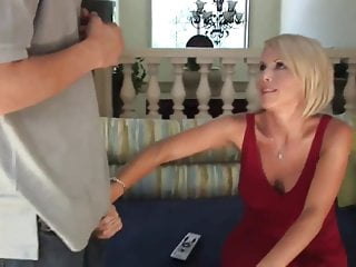 Milf pay perviiew - Sexy blonde milf cougar pay the debt top milf