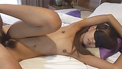 I shot in her pussy and inserted again with sperm dripping