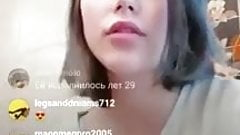 Mariia Babko instagram live