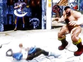 Chubby cartoon girls Fighting girl chun li