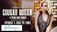 Girlsway Queen-пума - пародия на тигрового короля