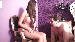 goddess perfecta face slapping slave joschi