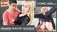 PERFECT HOOKUP with Blonde Spanish Chick! CHIC-ASS.com