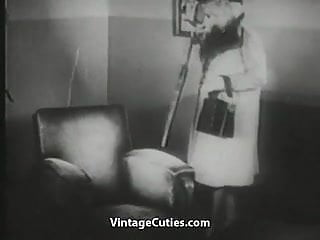 Vintage women undressing Undressing blonde gets watched by peeping tom vintage
