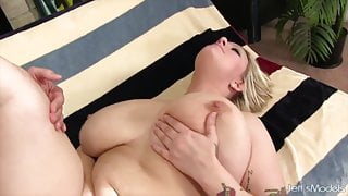 Jeffs Models - Curvy Sinful Samia Taking Cock Compilation 2