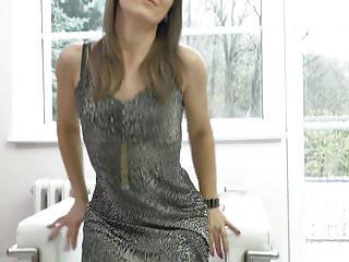 Karyna ts escort - Sexy milf angel karyna feeding her thirsty pussy
