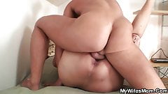 Party leads to old mother in law taboo fucking