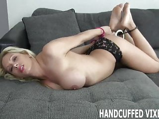 Adult supporting vulnerable young - I feel so helpless and vulnerable in handcuffs joi