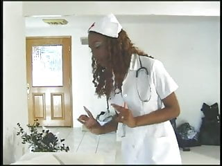 Teen blackcat scans Queen blackcat wouldnt you like this nurse